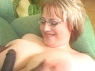 big beautiful woman Mama Orall-Service and Fucking Darksome Ramrod