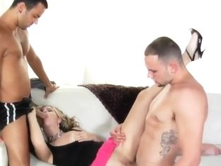 Amazing threesome fuck of some sexy guys