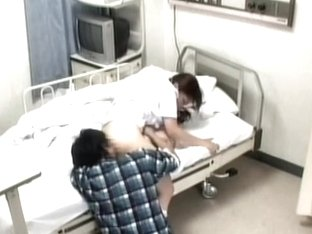 Hospital patient forget about his illness and fucked his nurse