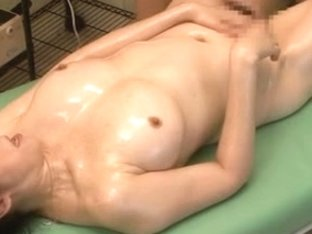Sexy erotic massage with asian milf fingered by Anita