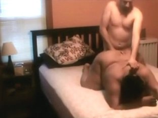 Dirty talking black bbw gets mouth and doggystyle fucked by her white bf