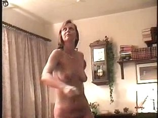 Nude exercises for camera