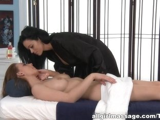 Hottest pornstar Aryana Augustine in Incredible HD, Lesbian porn video