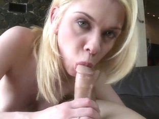 Sexy Lea lets horny stud to satisfy her with a huge cock