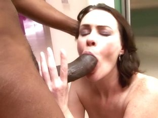 Incredible pornstar Veronica Snow in horny interracial, hairy sex scene