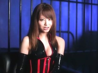 Best Japanese chick Akiho Yoshizawa in Incredible latex, solo girl JAV movie