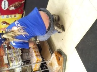 Store worker's crack