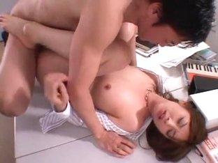 Exotic Japanese girl in Fabulous Big Tits, POV JAV clip