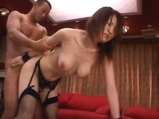 Fabulous Japanese chick Yuki Toma in Amazing JAV clip