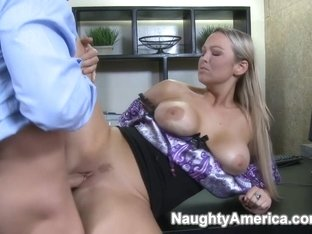 Abbey Brooks & Mikey Butders in Naughty Office