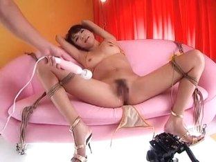 Fabulous Japanese whore Kanako Tsuchiya in Exotic Fingering, Cunnilingus JAV scene
