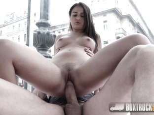Hot Teen Anina Silk Shows off her Neatly Trimmed Pussy