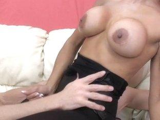 Sex Therapist Jasmine Shy two Lance Hart HJ Ballbusting