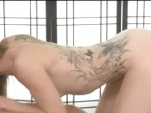 The Almost Any Sexiest Redhead Gives A Massage With A Cheerful Ending