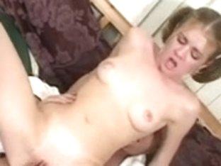 Nasty Step-Daughter Spanked & Screwed!