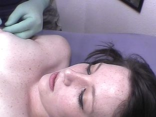 Hot College Girl On Vacation Getting Nipples Pierced
