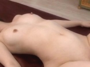 Riko Oshima gets one big fuck in shaved crack after blo