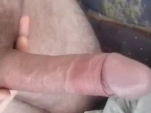 She spread her pussy lips after a nice handjob