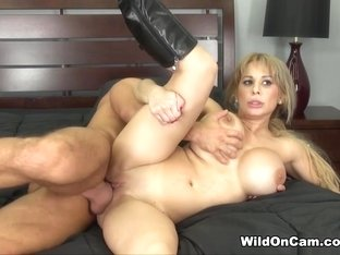 Exotic pornstar Alyssa Lynn in Crazy Blonde, Big Tits adult video