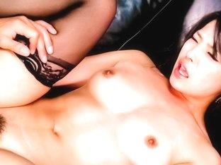 Best Japanese slut Eririka Katagiri in Crazy JAV uncensored Stockings video