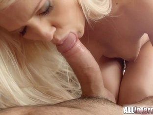 All Internal Shy sexy blonde has ass fucked and packed with sperm