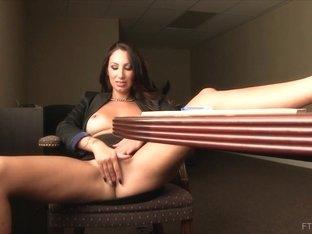 Horny pornstar in Fabulous Redhead, MILF porn scene