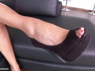 Amazing pornstar in Exotic Interracial, Foot Fetish adult clip