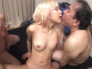 Fabulous Japanese girl in Hottest JAV censored Fingering, Small Tits video