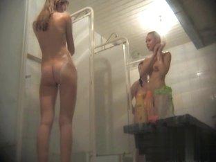 Hidden cameras in public pool showers 95