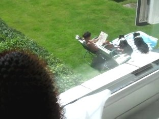 spy neighbour sunbathe2