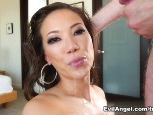 Amazing pornstars in Incredible Asian, Blowjob sex scene