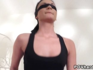 Tied up amateur banged pov fetish euro