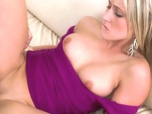 Naughty girl feels cock into juicy holes
