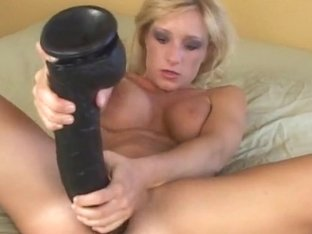 Blonde Teen Ashley's Big Dildo