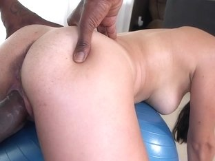 Sexy Sofia Rivera gets stretched by black dick
