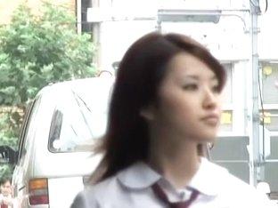 Shuri sharking scene of incredibly beautiful hot Asian brunette