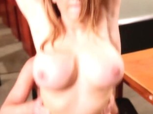 Kagney Karter rides her wet pussy on this hard dick