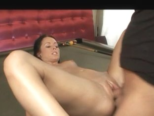 Sexy darksome hiared wench receives laid
