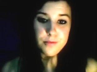Emo Girl im Chat