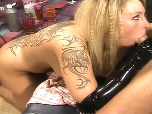 I get facial on webcam in my amateur couples video