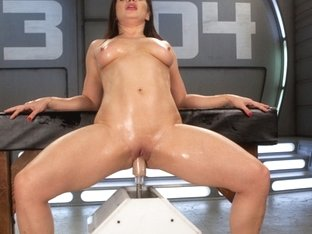 Amazing fetish, fisting adult movie with best pornstar Lea Lexis from Fuckingmachines