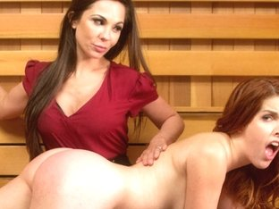 Crazy fetish, lesbian porn video with hottest pornstars Amarna Miller and Kirsten Price from Whipp.