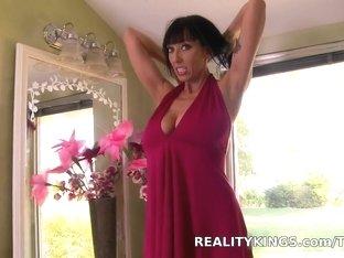 Amazing pornstar in Fabulous Lingerie, Brunette porn clip