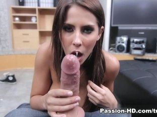 Hottest pornstar Madison Ivy in Crazy POV, Handjobs xxx scene