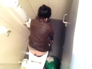 Toilet spy supermarket romania risky job