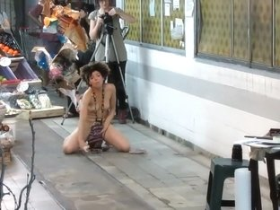 Public nudity as art performance