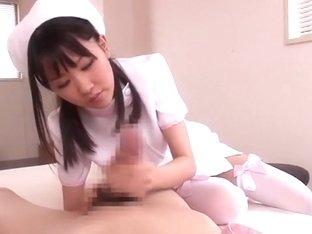 Crazy Japanese slut Urara Mizuki in Hottest Stockings/Pansuto, Handjobs JAV video