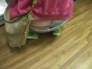 Hipster girl's thong whale tail