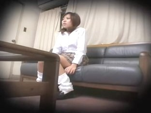 Lovely Jap nailed in spy cam Japanese hardcore clip