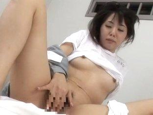 Best Japanese whore Nana Saeki, Meguru Kosaka, Tsubaki Katou in Crazy Lesbian/Rezubian, Medical JA.